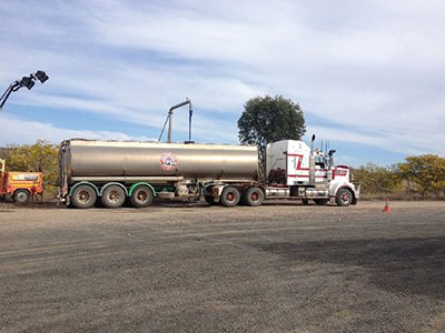 Roma Transport Services specialises in water haulage.